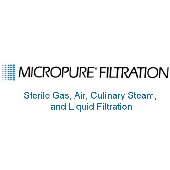 Micropure - Sterile Gas, Air, Culinary Steam, and Liquid Filtration